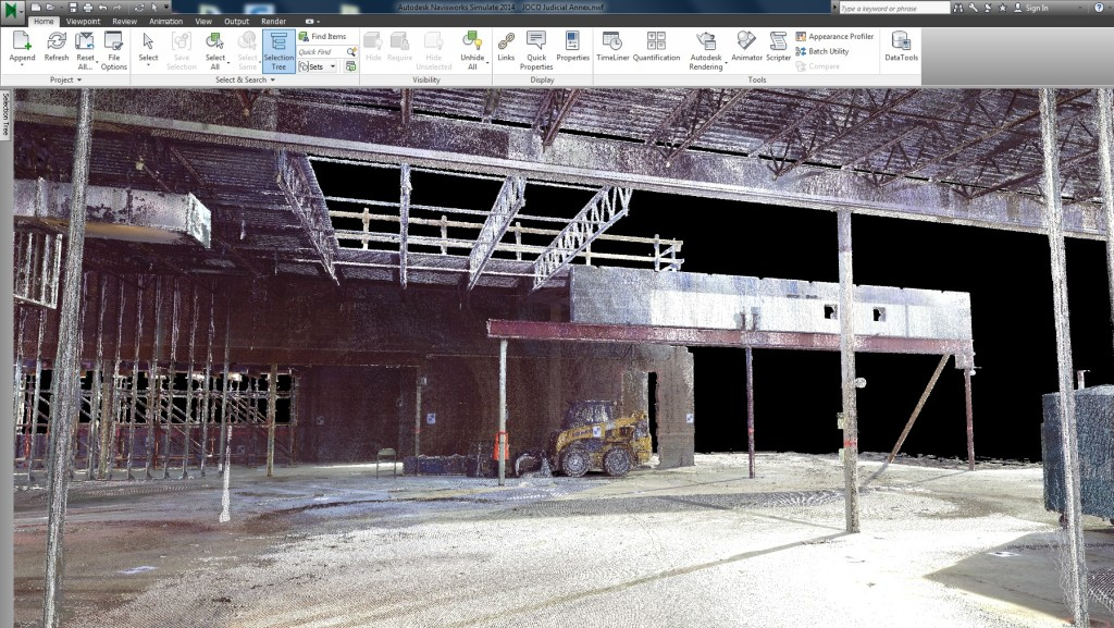 Laser Scanning Renovation at Johnson County Annex
